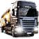 欧洲卡车模拟2红蓝轮胎包MOD V1.0 绿色免费版