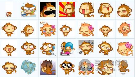 悠嘻猴qq表情包  434 免费版图片