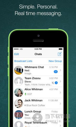 whatsapp messenger(ios平台免费聊天软件) for iphone v2.11.
