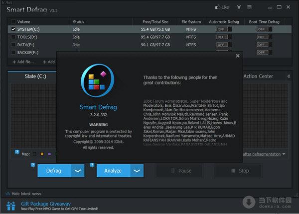 smart defrag(整理硬盘碎片工具) v3.2.0.332 最新版