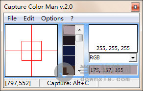 Capture Color Man
