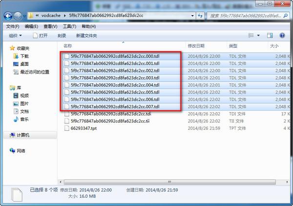 复制.tdl文件到E盘根目录
