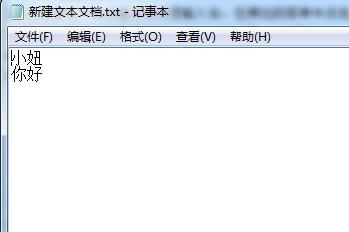 新建一个文本文档,输入需要导入的词语