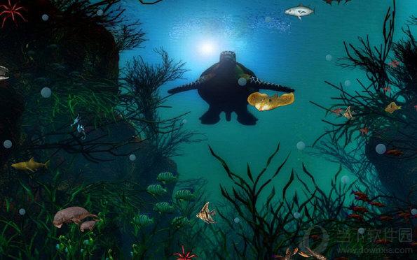 动态屏保免费下载_海底世界屏保|海底世界动态屏保 免费版 下载_当下软件园_软件下载