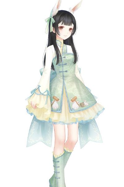 奇迹暖暖月宫蟾兔主要获得套装和染色后套装都很可爱哦!
