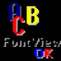 FontViewOK(字体浏览器) V4.56 多语言绿色免费版