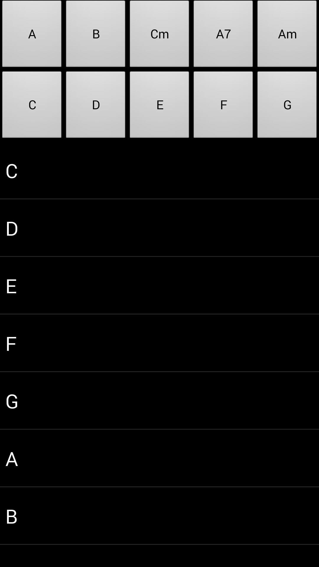 拇指吉他 V1.0.5 安卓版截图2