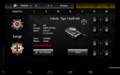 坦克闪电战修改版 V0.91 安卓版截图4