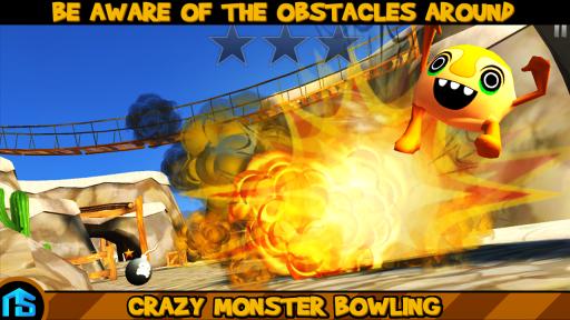 疯狂怪兽保龄球修改版 V2.0 安卓版截图5
