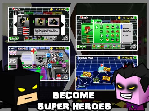 英雄战争2僵尸病毒修改版 V1.0 安卓版截图3