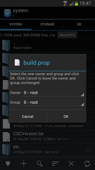 Root Explorer(re文件管理器) V4.1.8 安卓版截图5