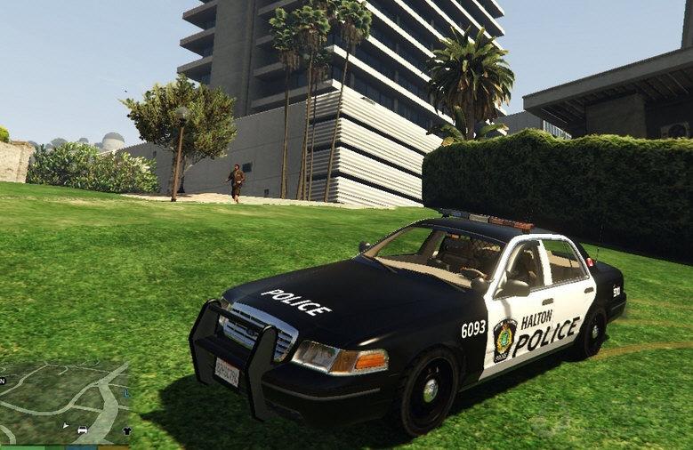 GTA5加拿大警车MOD