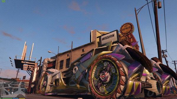 GTA5蝙蝠车MOD