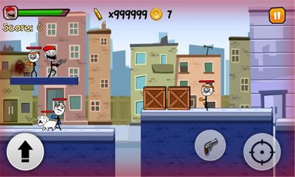暴走奔跑3城市猎人修改版 V1.0 安卓版截图4