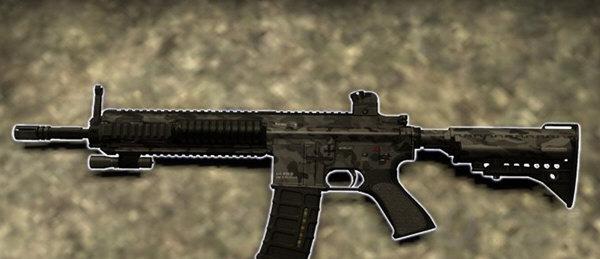 求生之路2迷彩hk416步枪mod