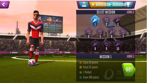 踢吧足球勇士修改版 V1.0.8 安卓版截图1