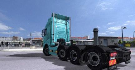 欧洲卡车模拟2模型变换MOD