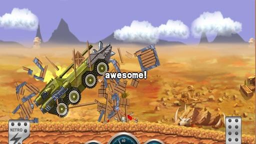 怪物登山赛车破解版 V1.6 安卓版截图2