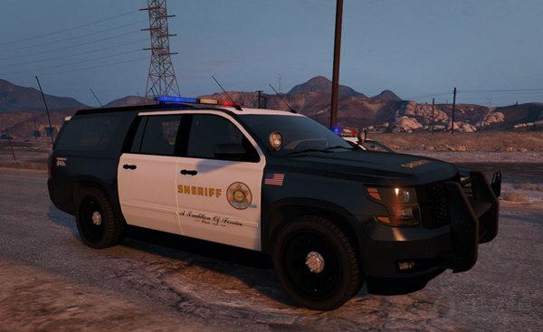 GTA5洛杉矶雪佛兰警车MOD
