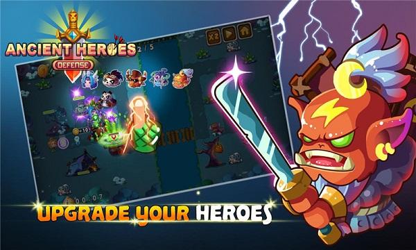 古代英雄塔防无限钻石版 V1.0.1 安卓版截图1