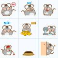 胖胖鼠QQ表情包 +101 免费版