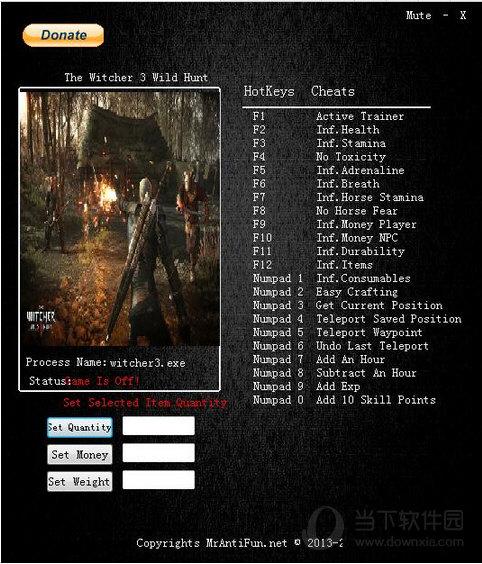 巫师3狂猎二十四项修改器