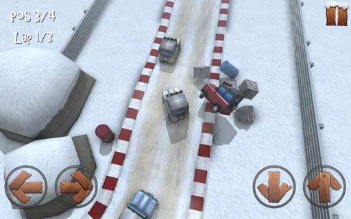 冬日迷你赛车修改版 V1.0 安卓版截图1