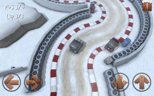 冬日迷你赛车修改版 V1.0 安卓版截图2
