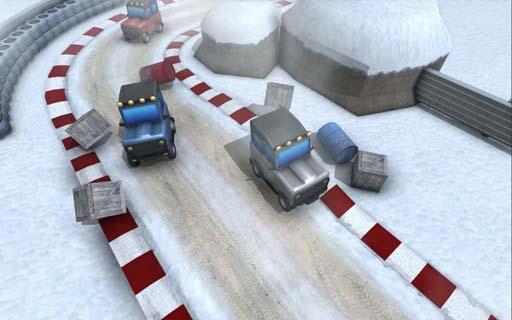 冬日迷你赛车修改版 V1.0 安卓版截图3