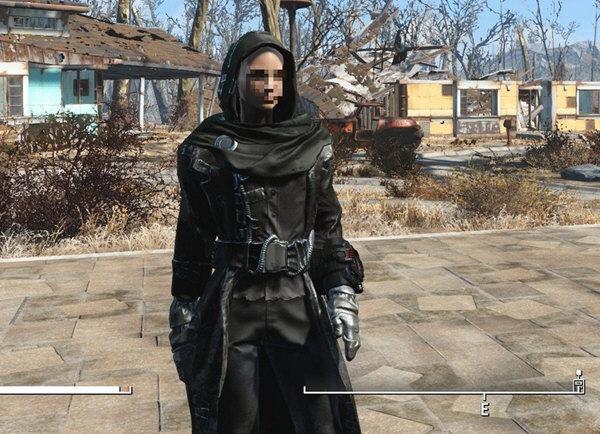 辐射4黑色战袍mod