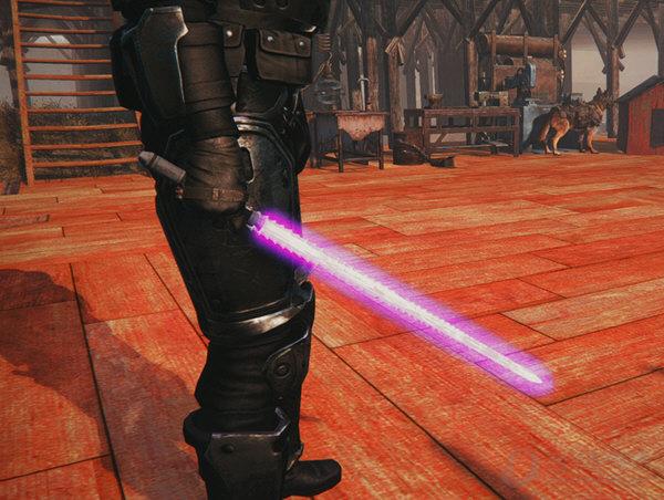 辐射4原力剑mod