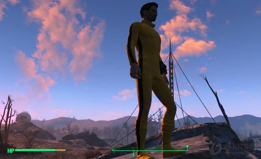 辐射4李小龙同款紧身衣mod