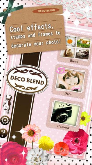 DecoBlend app