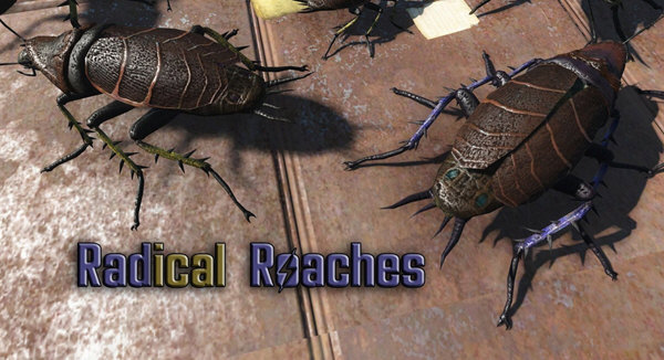 辐射4新蟑螂材质mod