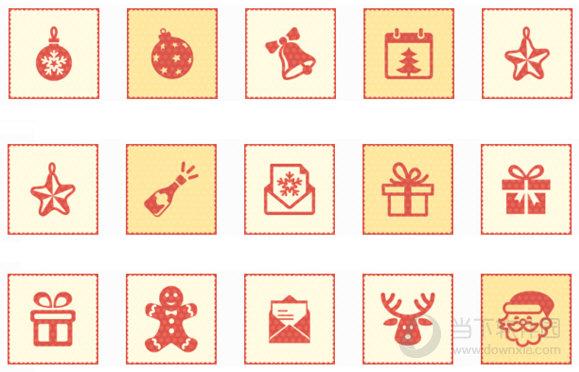 圣诞节系列电脑图标