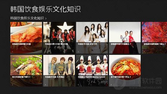 韩国饮食娱乐文化知识win10版