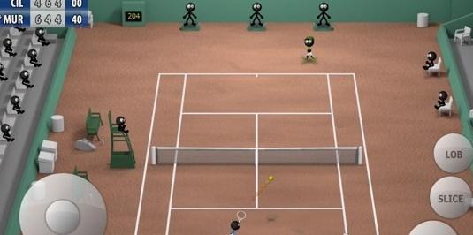 火柴人网球2015破解版 V1.0 安卓版截图2
