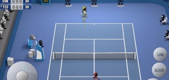 火柴人网球2015破解版 V1.0 安卓版截图1
