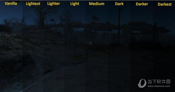 辐射4更黑的夜mod