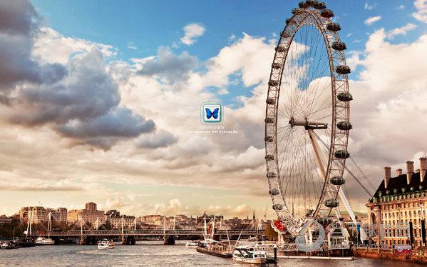 英国伦敦眼xp登陆界面