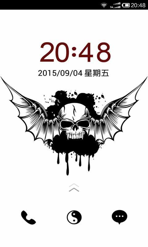 黑白骷髅手机主题 V5.8.1 安卓版截图2