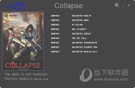 Collapse九项修改器