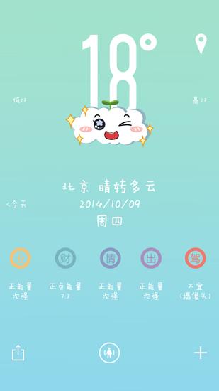 萌萌天气 V1.5 安卓版截图2