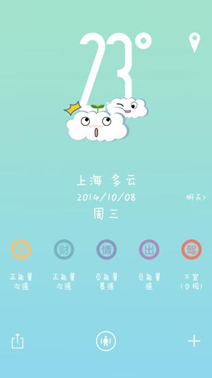 萌萌天气 V1.5 安卓版截图3