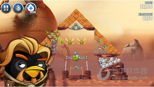愤怒的小鸟星球大战2无限金币 V1.9.0 安卓版截图1