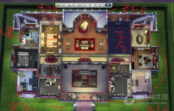 模拟人生4烧烤超级豪宅mod