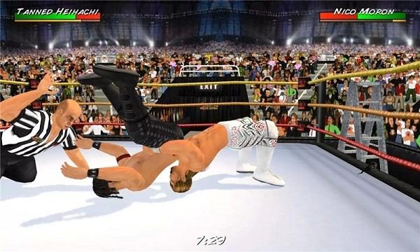 摔跤革命3D完整版 V1.530 安卓版截图1