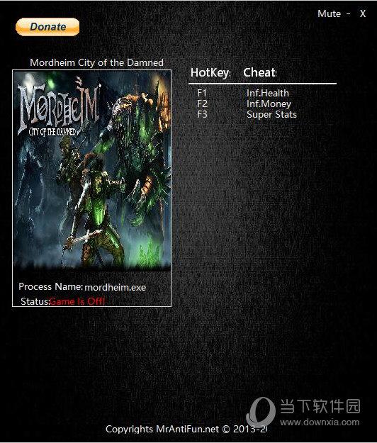 莫德海姆诅咒之城三项修改器