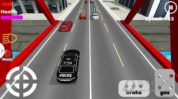 警车追击3d无限金币版