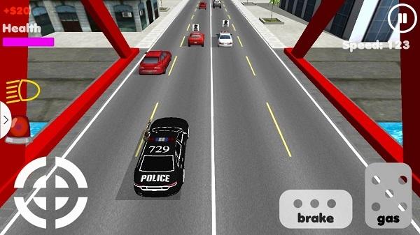 警车追击3d无限金币版 V20151012 安卓版截图2